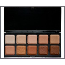 Skin Tone Palette Light to Dark
