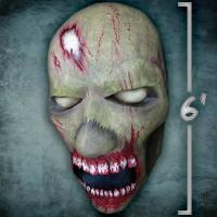 Giant Zombie Head