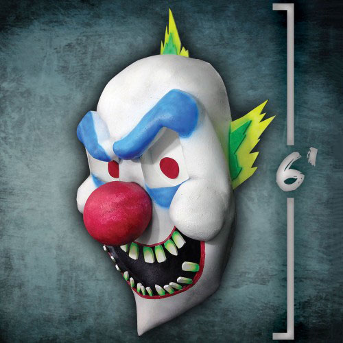 Giant Evil Clown