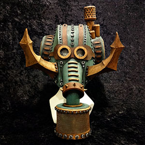 Steam Punk Elephant Foam Mask/Headdress