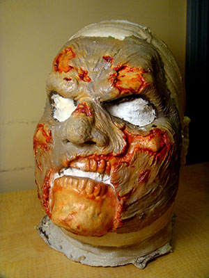 Foam Latex Zombie Sock Mask