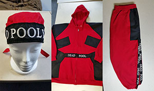 D-Pooly Hip-Hop Deadpool Costume