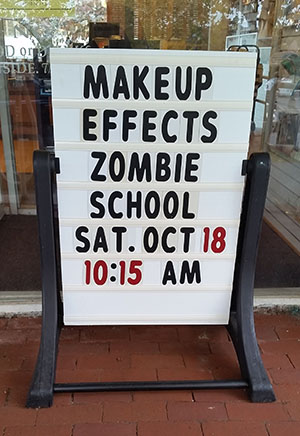Makeup Effects Zombie School