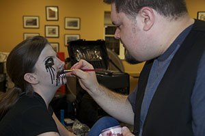 How To Improve Your Halloween Makeup Class and Demo at local Library