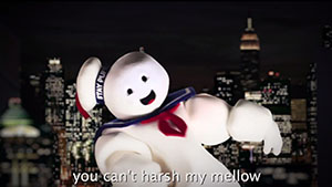 The Stay Puft Costume on Epic Rap Battle of History