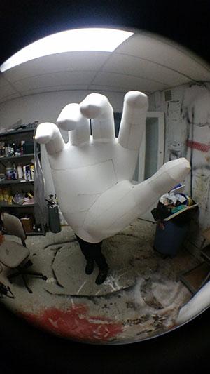 Giant Foam Hand
