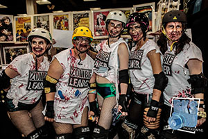 Roller Girl Zombies for Comic Con