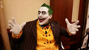 Joker Makeup at TerrifiCon 2015