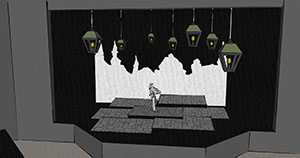 Scenic Design for A Christmas Carol
