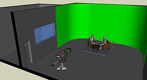 Film Studio Layout Design