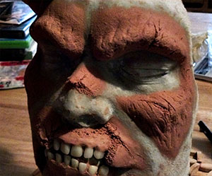 Zombie Prosthetics Sculpt